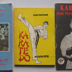 Karate Do - 3 carti - Carte sport