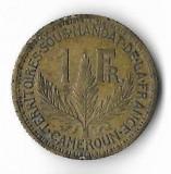 Moneda 1 franc 1924 - Camerun, Africa