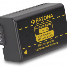 1 PATONA | Acumulator pt Panasonic DMW-BMB9 DMW BMB9 - Baterie Aparat foto