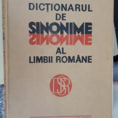 Dictionarul De Sinonime Al Limbii Romane - LUIZA SECHE - Dictionar sinonime
