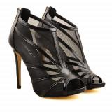 Sandale cu toc Ramona negre