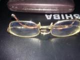 Ochelari vintage de vedere GIORGIO ARMANI stantati aurii,lentile distanta/aprop, Emporio Armani