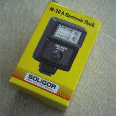 Blitz SOLIGOR M-20 A (Electronic Flash) - NOU
