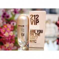 Parfum Original Carolina Herrera 212 Vip Rose + CADOU - Parfum femeie, Apa de parfum, 100 ml