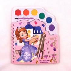 Caiet de Colorat cu Acuarele Sofia