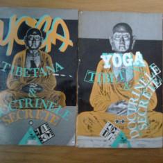 E3 Yoga Tibetana Si Doctrinele Secrete (2 volume) - Carte ezoterism