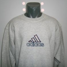 Bluzon barbati Adidas, mar XXL, gri deschis, stare foarte buna! - Bluza barbati Adidas, Culoare: Din imagine