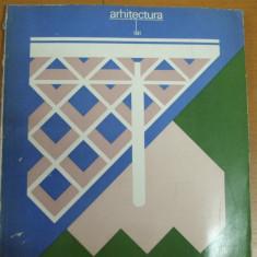 Arhitectura 1 / 1981 Marcel Iancu Valenii de Munte Iorga Braila Bucuresti Oradea - Carte Arhitectura