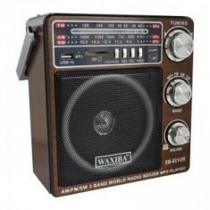 Radio Mp3 portabil Waxiba XB-921UR, suport card SD/USB