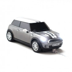 Mouse Mini Cooper S Dark Grey - USB