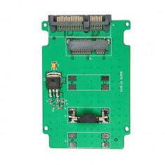 Adaptor (msata la sata) Mini PCI-E SSD mSATA la 2.5 inch SATA 22-Pin male
