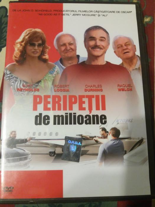 dvd - film - Peripetii de milioane -