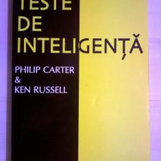 P. Carter, K. Russell - Teste de inteligenta - Carte Psihologie