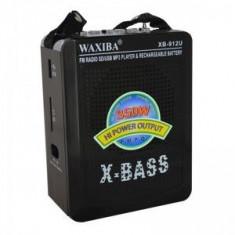 Radio Mp3 portabil Waxiba XB-912U, mufa jack