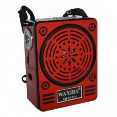 Radio Mp3 portabil Waxiba XB-9011U, mufa jack