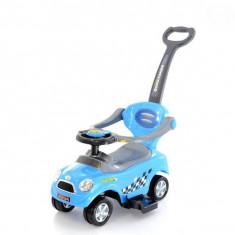 MASINUTA DE IMPINS EUROBABY 321 MINI COOPER - ALBASTRU - Masinuta electrica copii