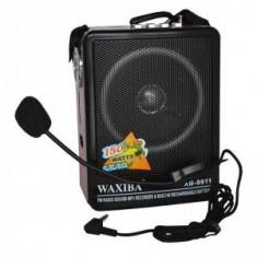 Radio Mp3 portabil Waxiba XB-9911, microfon inclus