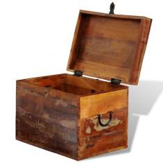 Cufăr din lemn reciclat