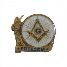 Pin mason - Freedom