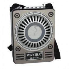 Radio MP3 portabil Waxiba XB-9112U, mufa jack