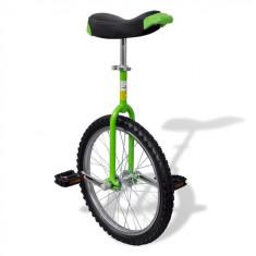 Monociclu verde reglabil 20 inci - Bicicleta de oras
