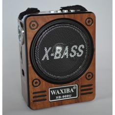 Radio Mp3 portabil Waxiba XB-909U, baterie interna