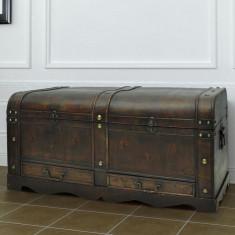 Cufăr vintage/măsuță din lemn maro