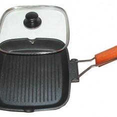Grunberg Tigaie grill cu capac 24x24 (HXG 24 LD)