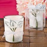Argint Lily Design Calla votiv lumânare titular