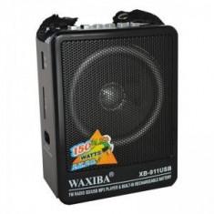 Radio MP3 portabil Waxiba XB-911USB, mufa jack