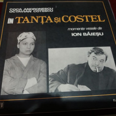 DISC VINIL TANTA SI COSTEL - Muzica soundtrack