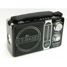 Radio MP3 portabil cu lanterna Waxiba XB-121URT
