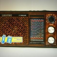 Radio Mp3 portabil Leotec LT-806UAR, 12 benzi
