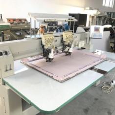 Mașină de brodat industrială cu două capete cu 6 luni garanție