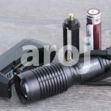 Lanterna Power Light Extra Zoom 2800W cu Led CREE T6