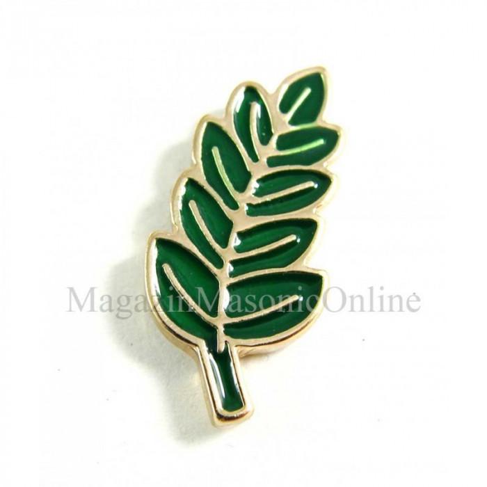 Pin Acacia Verde 21mm
