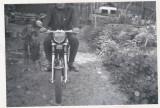 Bnk foto - Motocicleta Mobra 50 - anii `70, Alb-Negru, Transporturi, Romania de la 1950