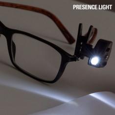 Clips cu LED pentru Ochelari Presence Light