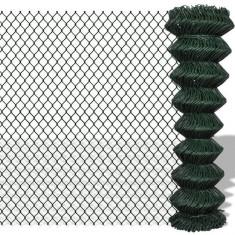 Gard lanț 1, 5 x 15 m, Verde - Plasa gard