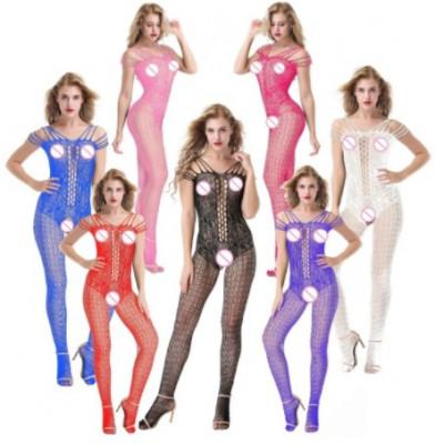 Lenjerie Lady Lust Sexy Bodystocking Fishnet Bourlesque Crotch Plasa Stocking foto