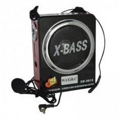 Radio Mp3 portabil Waxiba XB-9913, microfon inclus