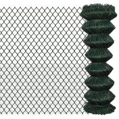 Gard lanț 1, 25 x 15 m, Verde - Plasa gard