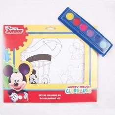 Set de Colorat A4 Mickey