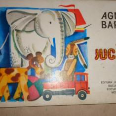 Jucarii / 8 pagini cartonate cu ilustratii - Agnia Barto - Carte personalizata
