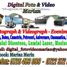 Videograph & photograph Evenimente