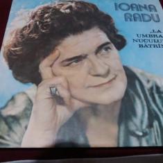 DISC VINIL IOANA RADU - LA UMBRA NUCULUI BATRAN - Muzica Populara
