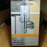 Lampa exterior Casalux cu senzor de miscare
