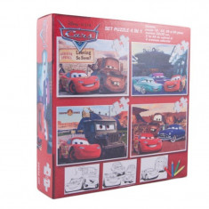 Puzzle Disney 4 in 1 Cars