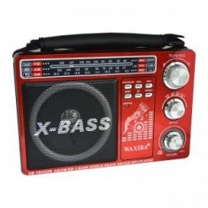 Radio Mp3 portabil Waxiba XB-1043UR, mufa jack