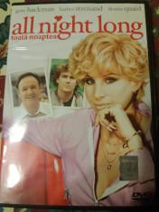 dvd - film - All nights long - Barbra Streisand foto